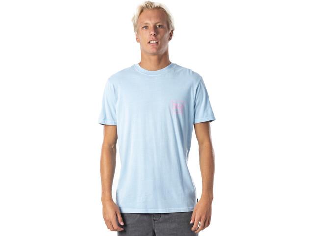 Rip Curl Native Glitch T-shirt Homme, blue river